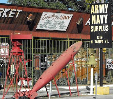 Army Navy Surplus Market, Tampa
