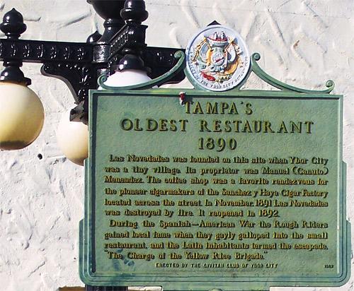 Las Novedades Spanish Restaurant History, Tampa, FL on ybor district map, ybor city walking map, ybor city things to do, ybor city trolley map,