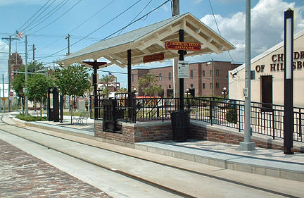 The Streetcar Has Made A Comeback In Tampa Now You Can Ride From Convention Center Across Harbour Island Past St Pete Times Forum